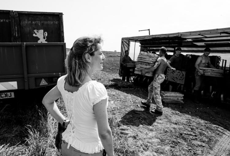Horticultural farmer Sarah Dawson