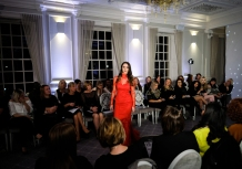 The Bridal and Prom launch evening for work by the designer Kate Fearnley at Acklam Hall.